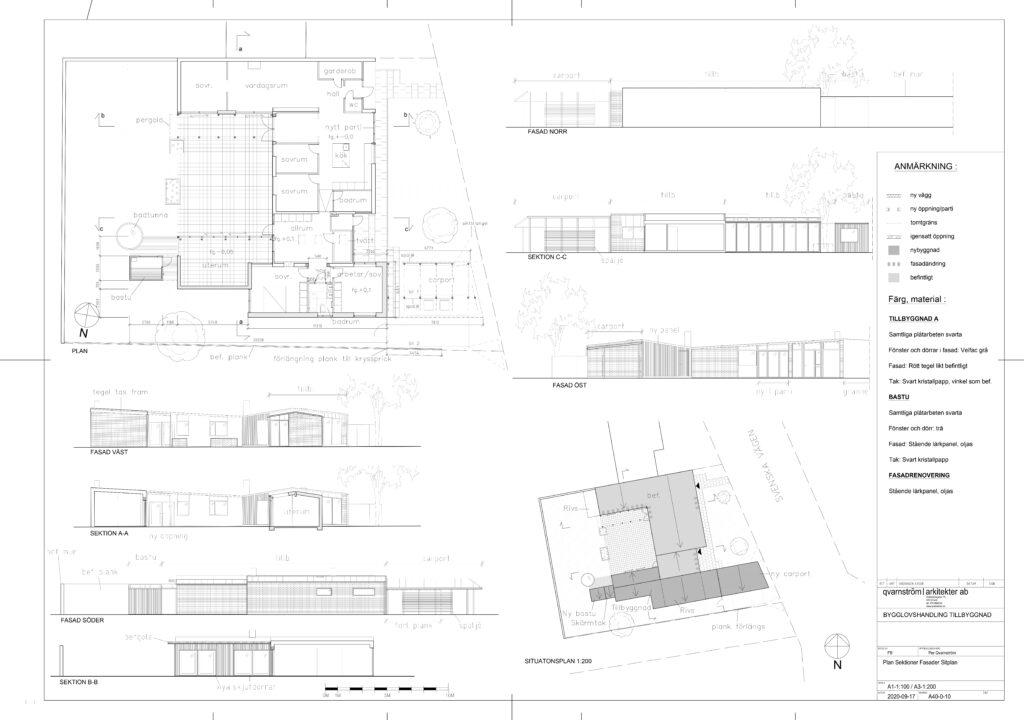 Exempel på bygglovshandling